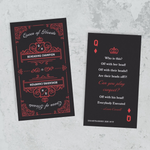 Queen of Hearts Mini Bookmark