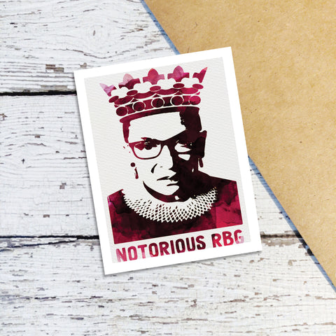 Natorious RBG Note Cards