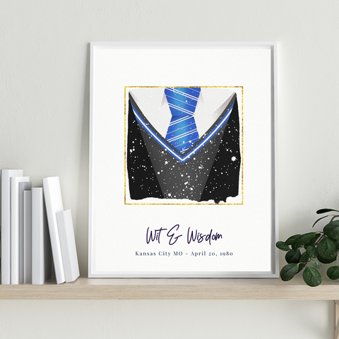 Ravenclaw is the Best Personalized Star Map Gift