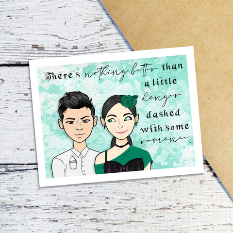Audrey Rose & Thomas Note Cards