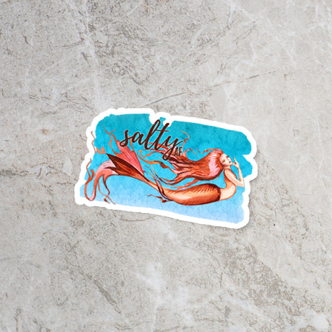 Little Salty Mermaid Sticker