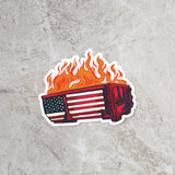 2020 Dumpster Fire Sticker