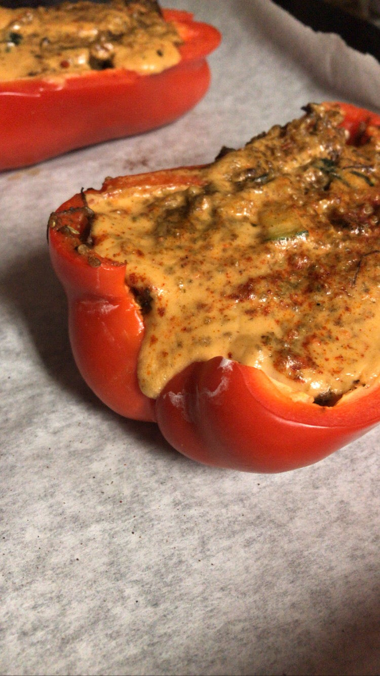Alkaline Stuffed Peppers