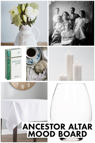 Ancestor Table Egun Table Mood Board