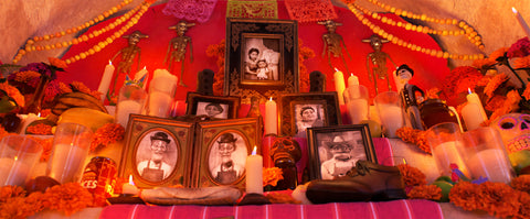 The Rivera Family's Ofrenda, from Pixar's Coco