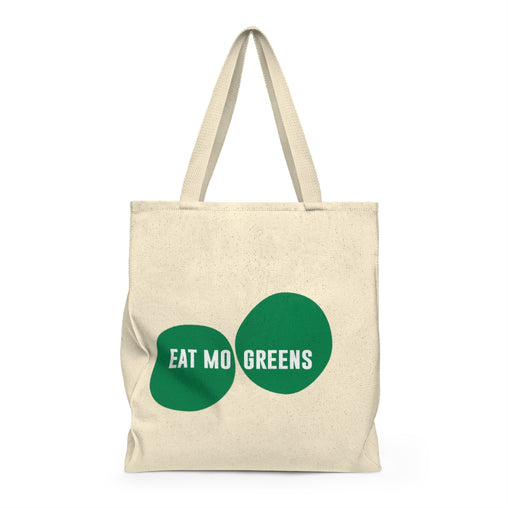 Mo Greens Tote Bag & Reusable Grocery Bag