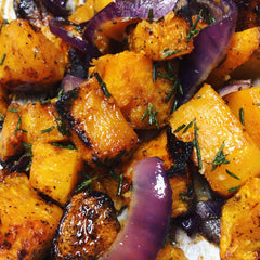 Chickpea Scramble & Butternut Squash Hash Recipe