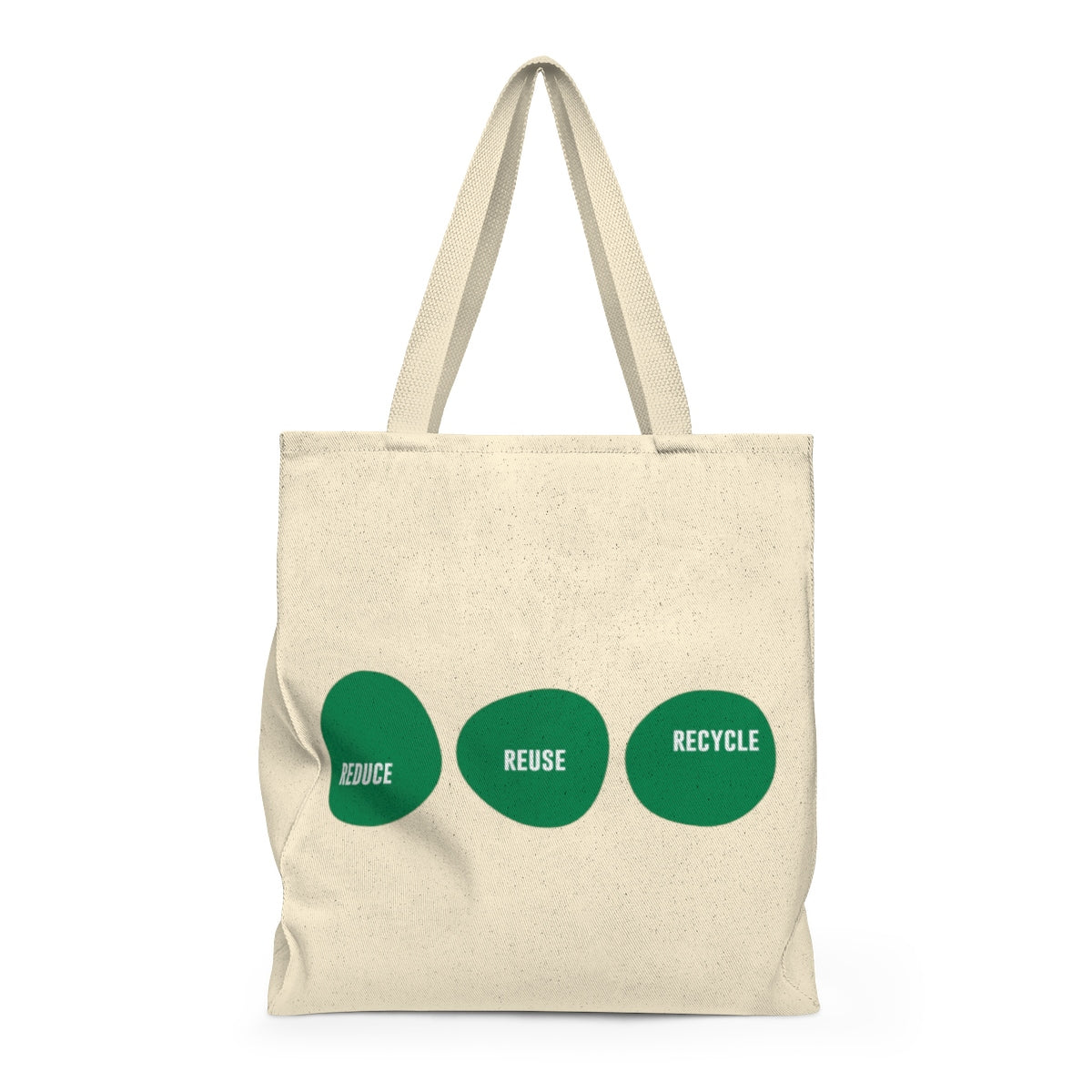 Reduce Reuse Recycle Tote & Reusable Grocery Bag (Original)