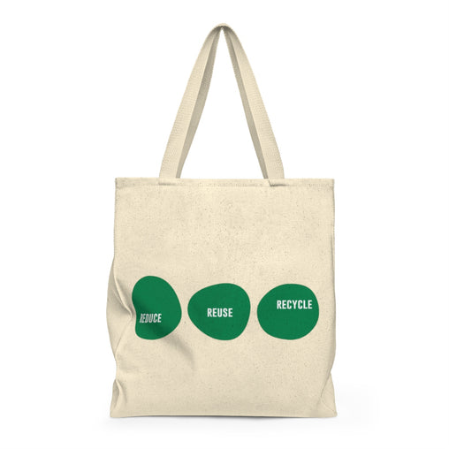 Reduce Reuse Recycle Tote & Reusable Grocery Bag (Original) from Ritual+Vibe