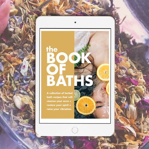 #BookOfBaths Vol 1: Spiritual Bath Recipe Digital eBook