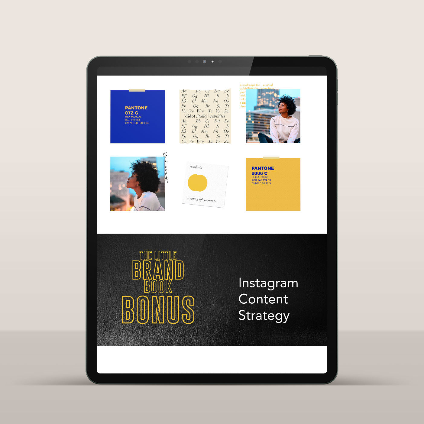 Instagram Content Strategy Ebook