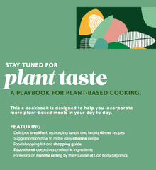 Plant Taste Vegan Cookbook (EBOOK) from Ritual+Vibe