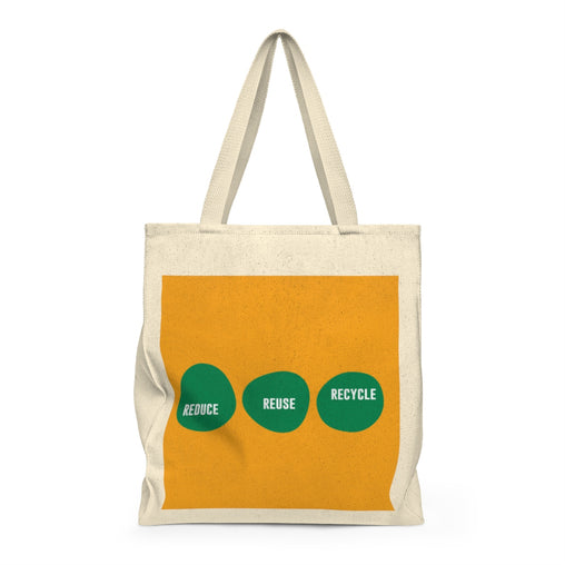 Reduce Reuse Recycle Tote & Reusable Grocery  Bag from Ritual+Vibe