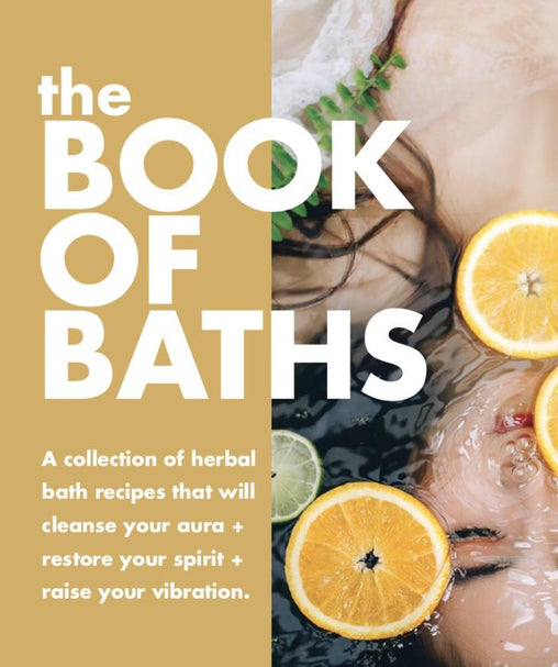 #BookOfBaths Vol 1: Spiritual Bath Recipe Book from Ritual+Vibe