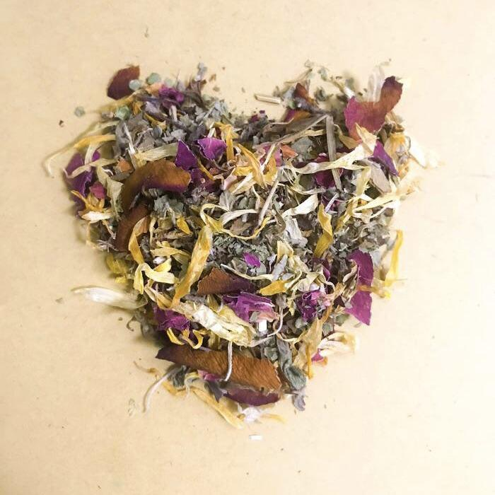 Self Love Herbal Bath Tea Blend - Oshunita from Ritual+Vibe