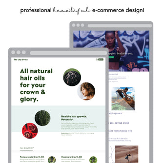 E-Commerce Store Web Design