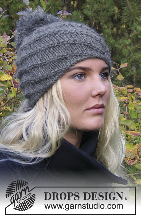 Chinook Hat by DROPS Design