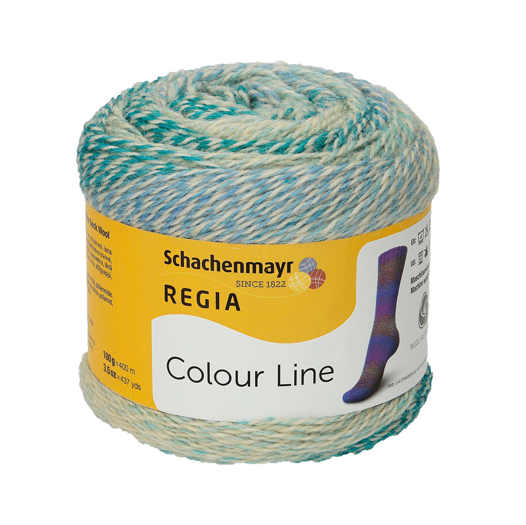Regia Colour Line 4-Ply Sock Yarn