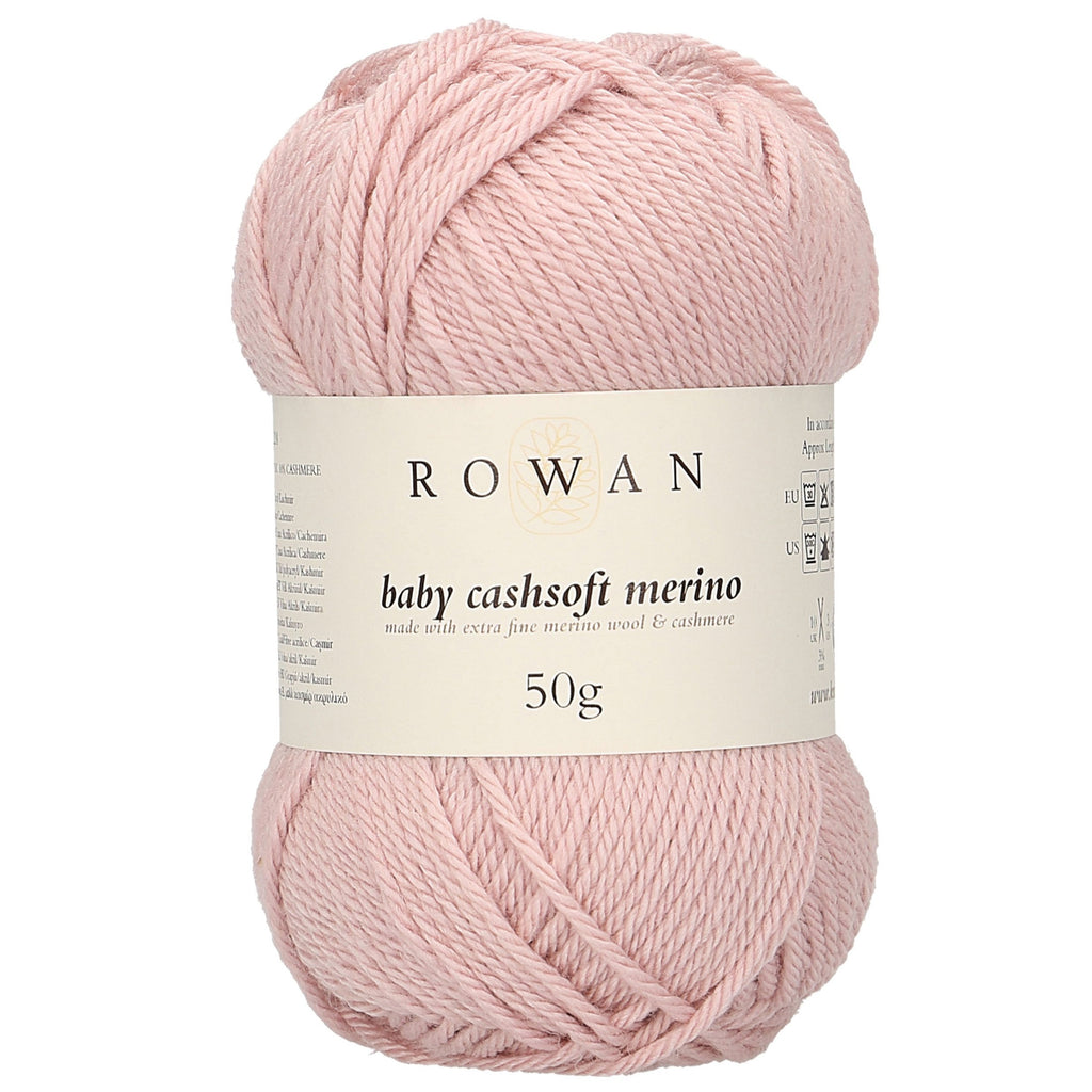 Little Bear Cub Beanie Knitting Kit in Rowan Baby Cashsoft Merino