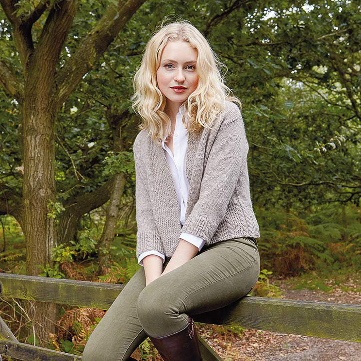 Rowan Skylark All Season Cardigan Knitting Kit