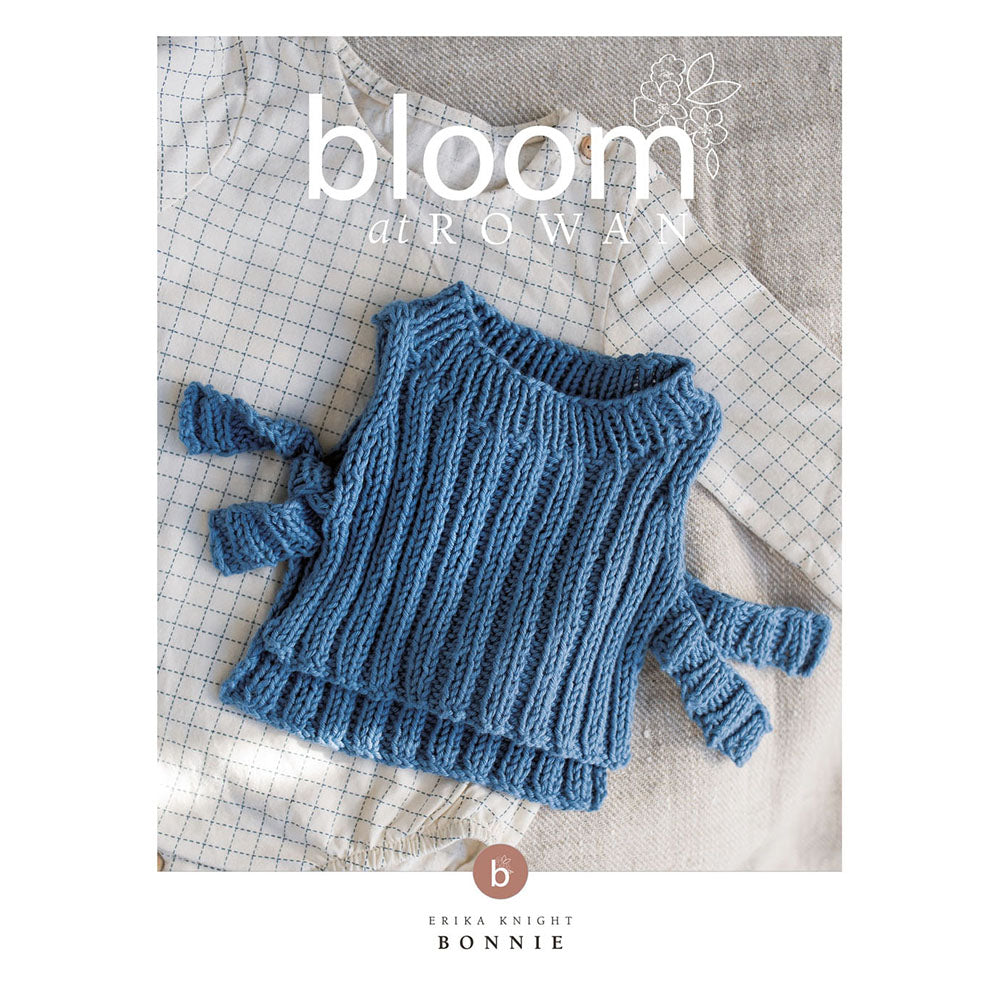 Bloom at Rowan - Bonnie Tabard for Baby (downloadable PDF)
