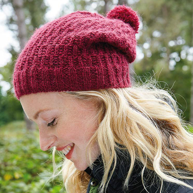 Rowan Buckler Hat Knitting Kit