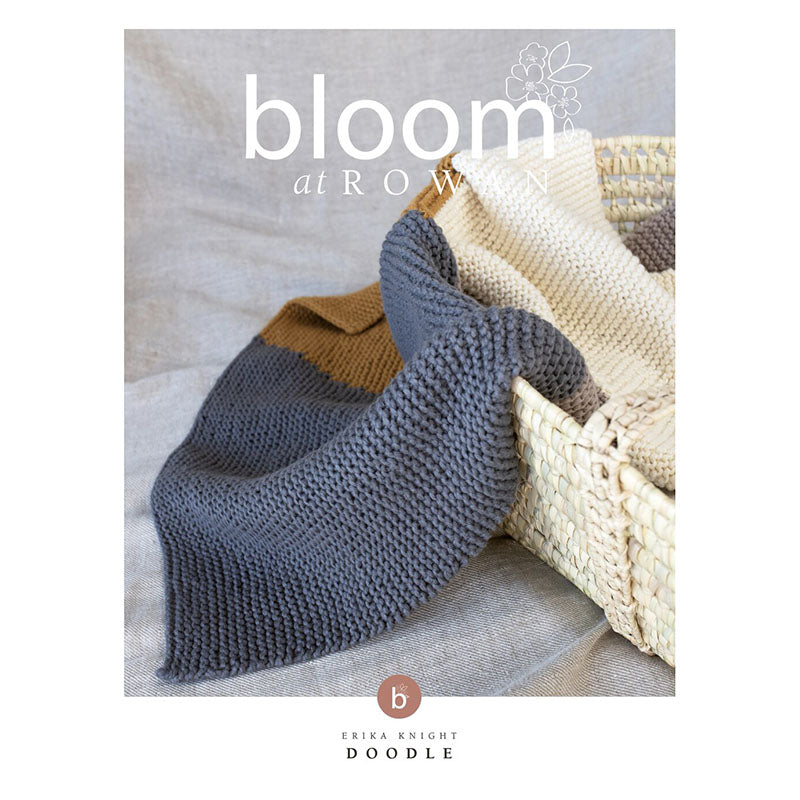 Bloom at Rowan - Doodle Blanket for Baby (downloadable PDF)
