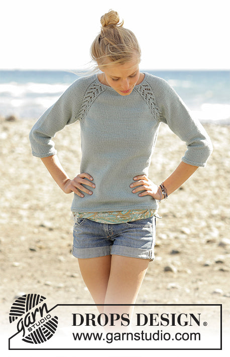 Wind Down Ladies Jumper by DROPS Design