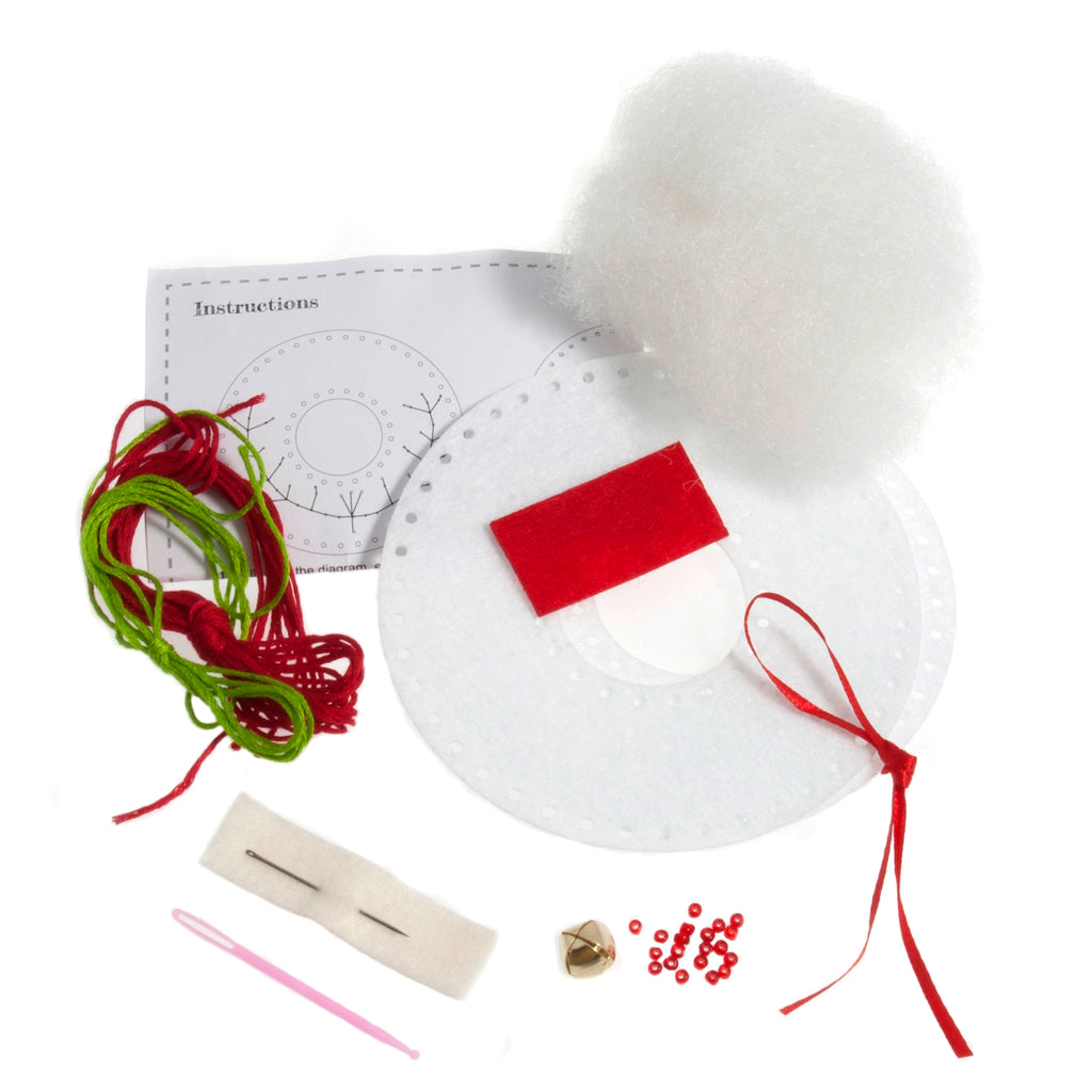 Trimits Make Your Own Felt Christmas Wreath Sewing Kit