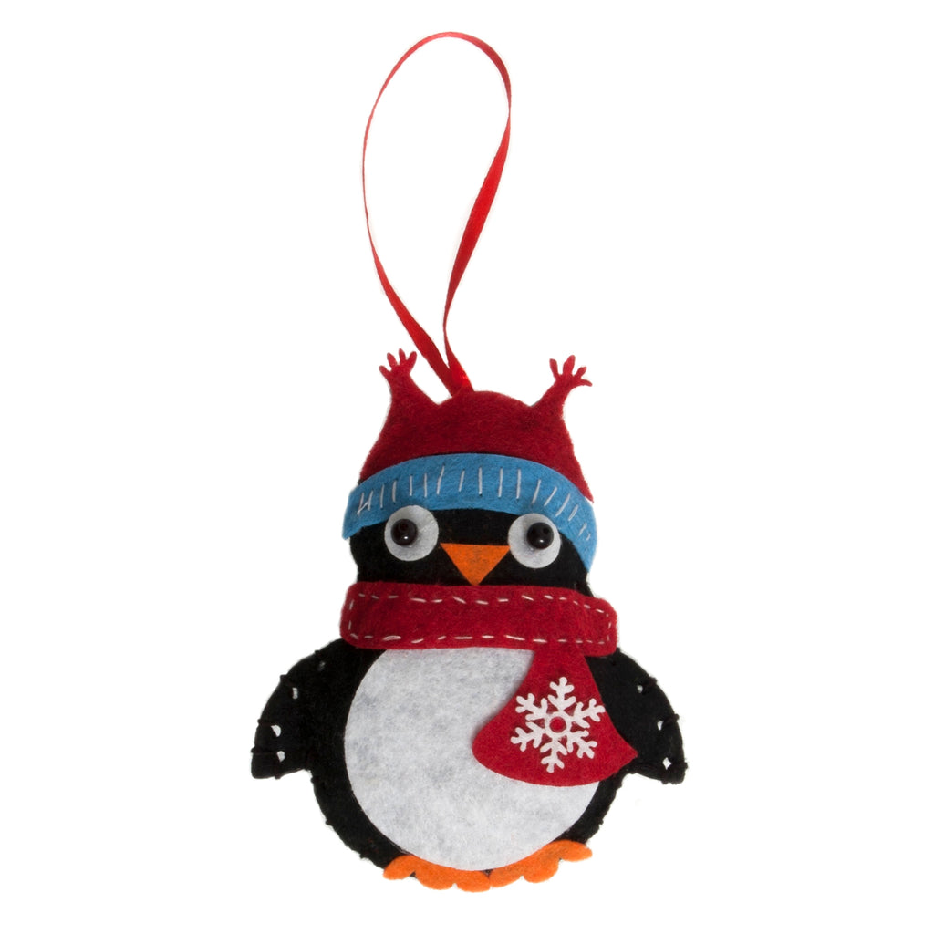 Trimits Make Your Own Felt Penguin Sewing Kit