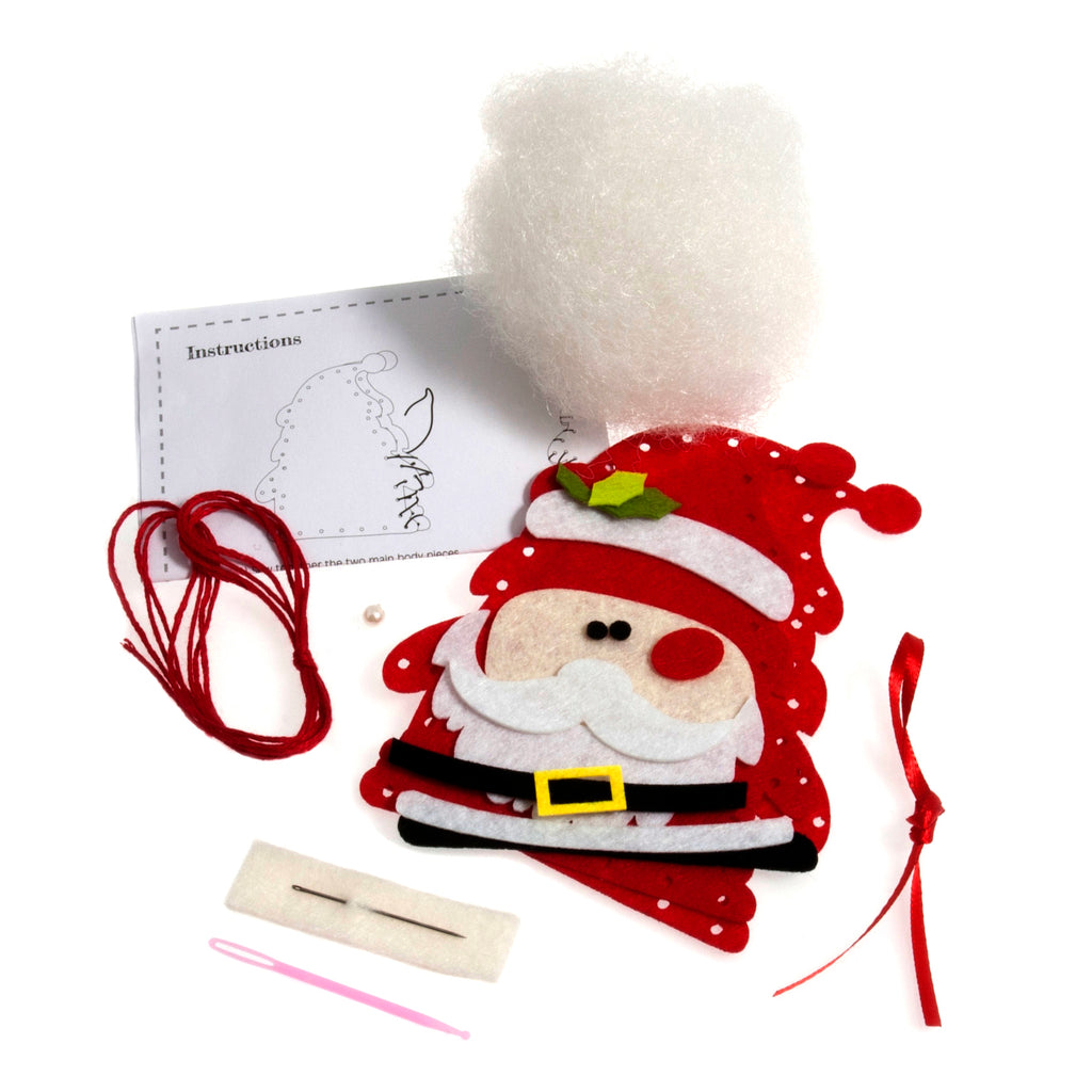 Trimits Make Your Own Felt Santa Sewing Kit