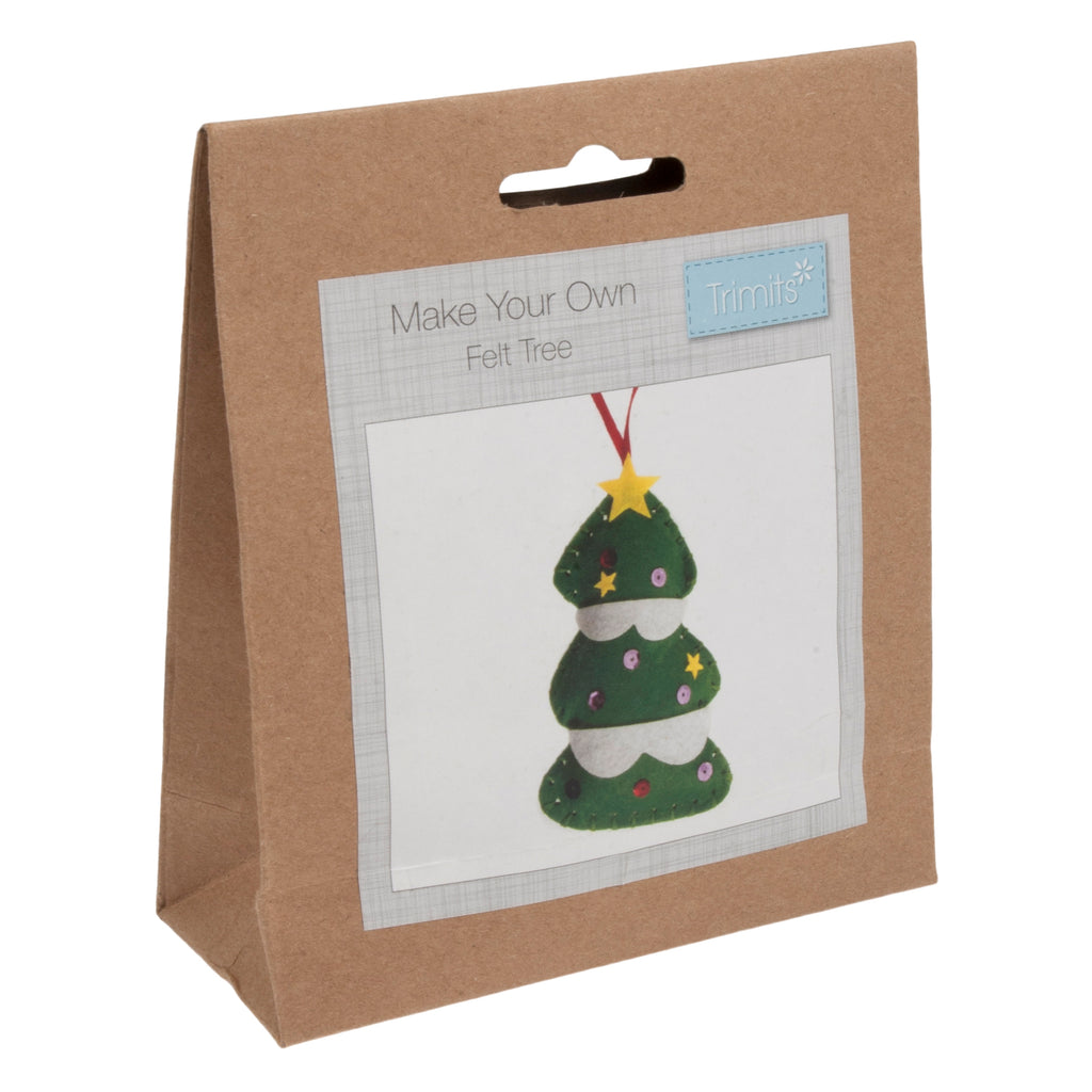 Trimits Make Your Own Felt Christmas Tree Sewing Kit