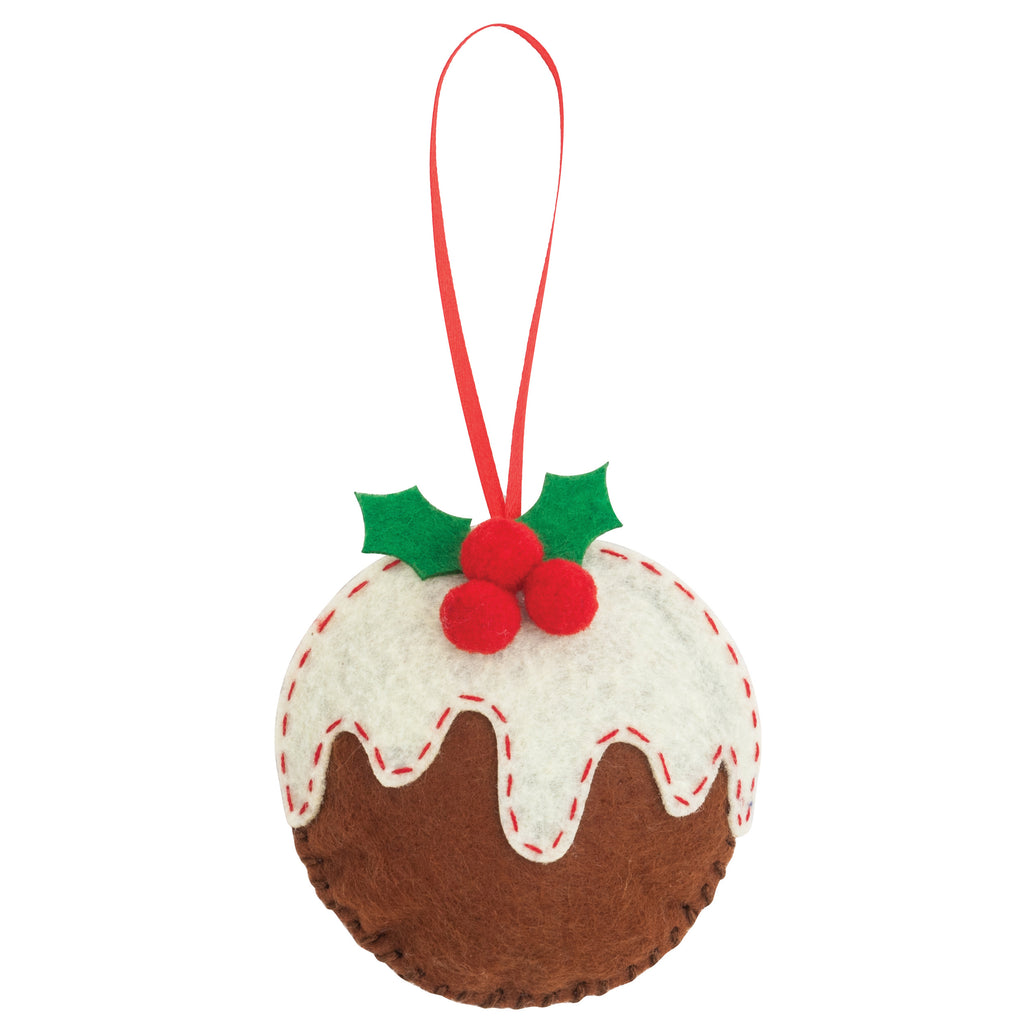 Trimits Make Your Own Felt Christmas Pudding Sewing Kit