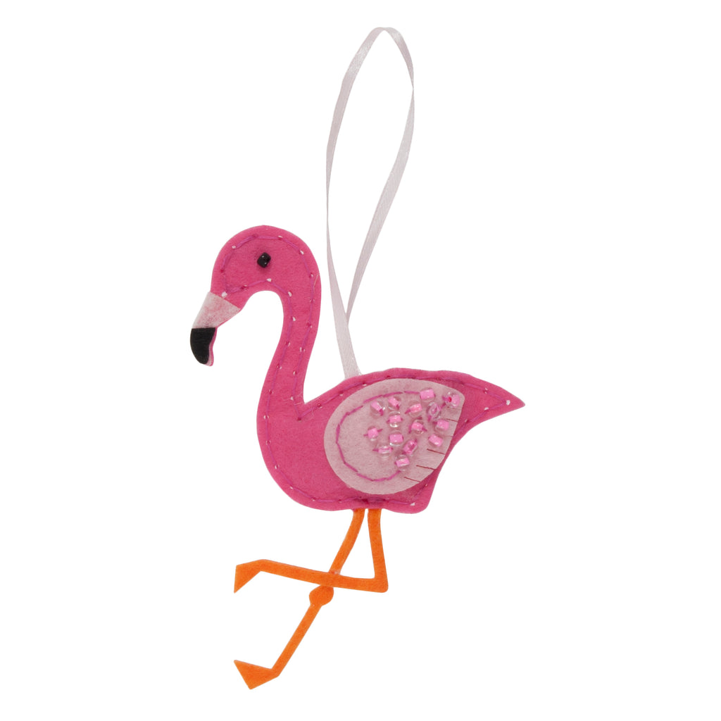 Trimits Make Your Own Felt Flamingo Sewing Kit