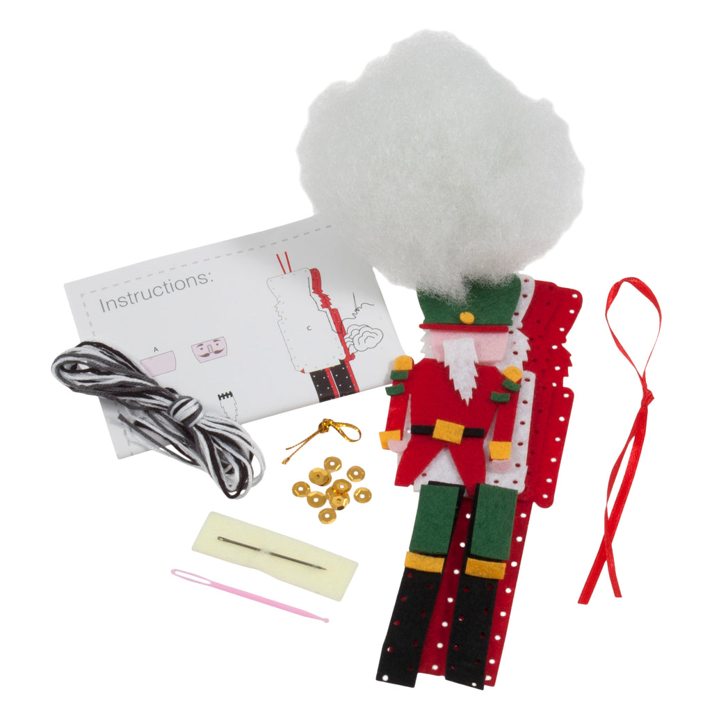 Trimits Make Your Own Felt Nutcracker Sewing Kit