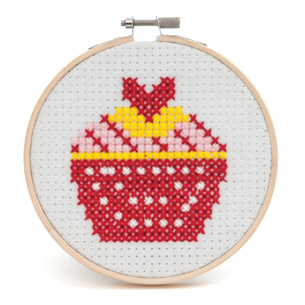 Trimits Cupcake Cross Stitch Kit