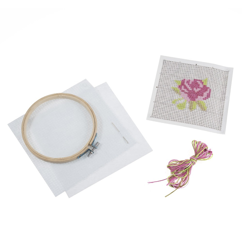 Trimits Rose Cross Stitch Kit