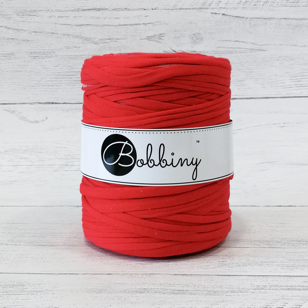 Bobbiny T-Shirt Yarn Red