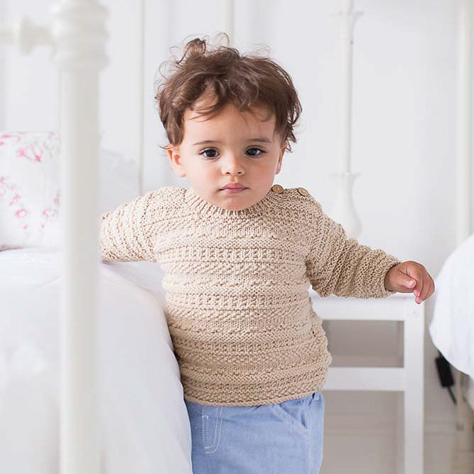 Rowan Isaac Baby Sweater Knitting Kit