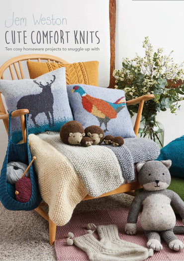 Rowan Cute Comfort Knits by Jem Weston