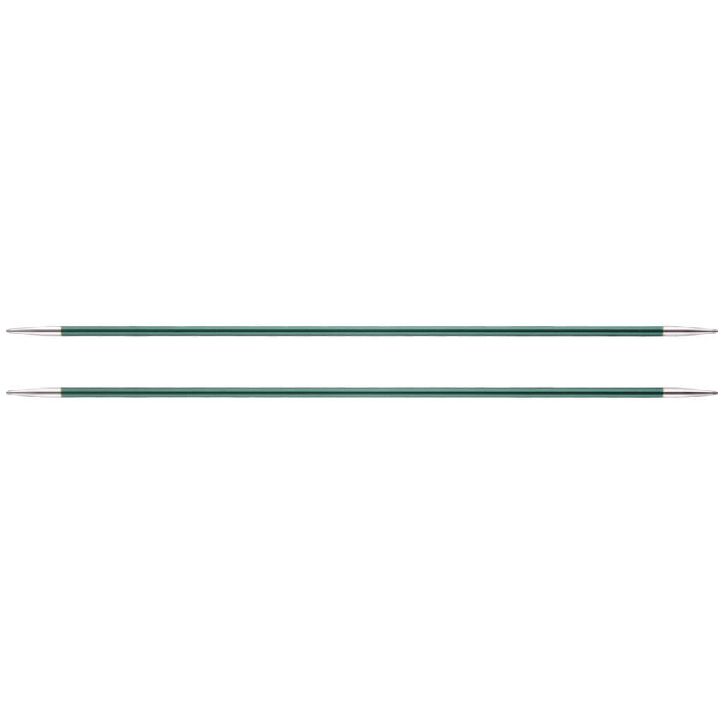 KnitPro Double Point Knitting Needles (Pack of 5) - Zing - 20cm