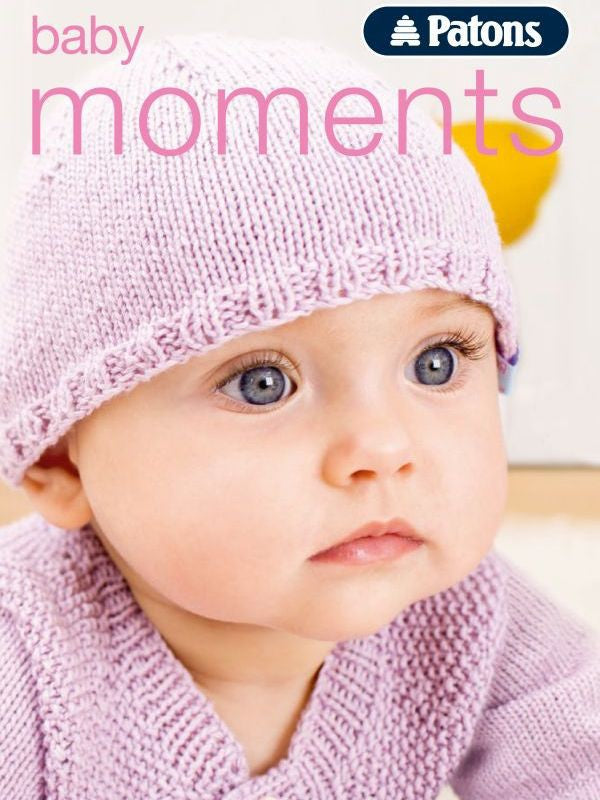 Patons Baby Moments Booklet 002