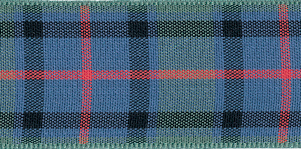 Berisfords Flower of Scotland Tartan Ribbon - 25mm
