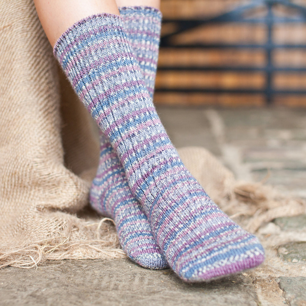 West Yorkshire Spinners Socks Wood Pigeon