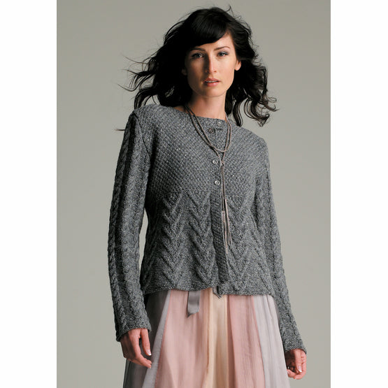 Rowan Textured Cardigan by Sarah Hatton
