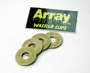 18. Invader Steel Flat Washers (4)