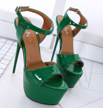 Load image into Gallery viewer, Delia Stiletto Sandals