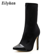 Load image into Gallery viewer, Ankara Pointed Toe Ankle Boots