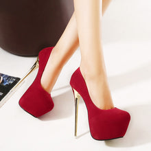 Load image into Gallery viewer, Lizzy Platform Pumps