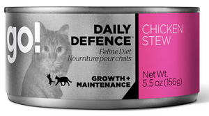 Petcurean Go! Daily Defence Chicken Stew Canned Cat Food